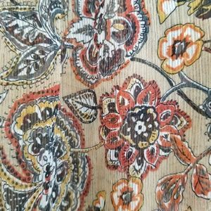 Zara Tops - Zara Basic Back Tie Paisley Printed Blouse Top M